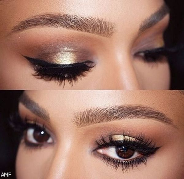 prom makeup for brown eyes and pink dress makeup vidalondon