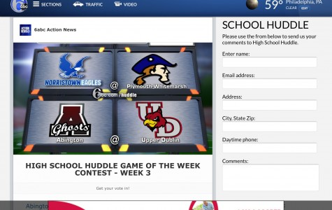 "Give your Vote to NAHS Eagles Football for 6abc's ""Huddle of the Week"""