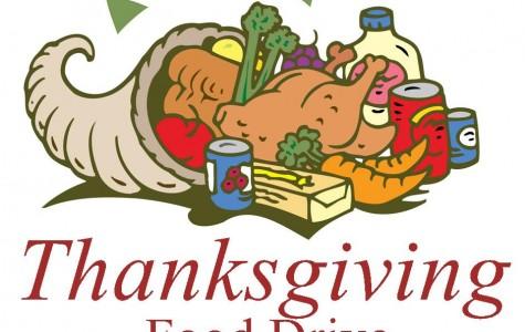 NAHS Annual Thanksgiving Food Drive