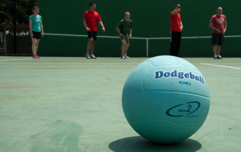 Dodging for Charity: DECA Dodgeball