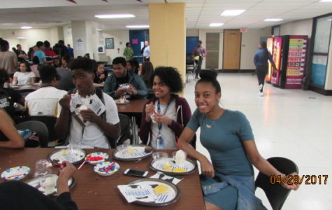 Seniors Enjoy Ice-Cream Social