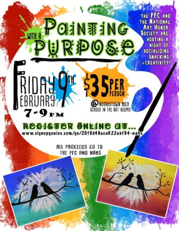 Painting With A Purpose Comes to NAHS on February 9th