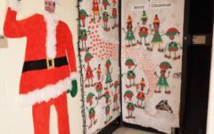 NAHS Door Decorating Contest, Winter Holiday Edition