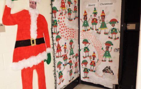 The winning door: Mr. Butler and Ms. Dryden's room.