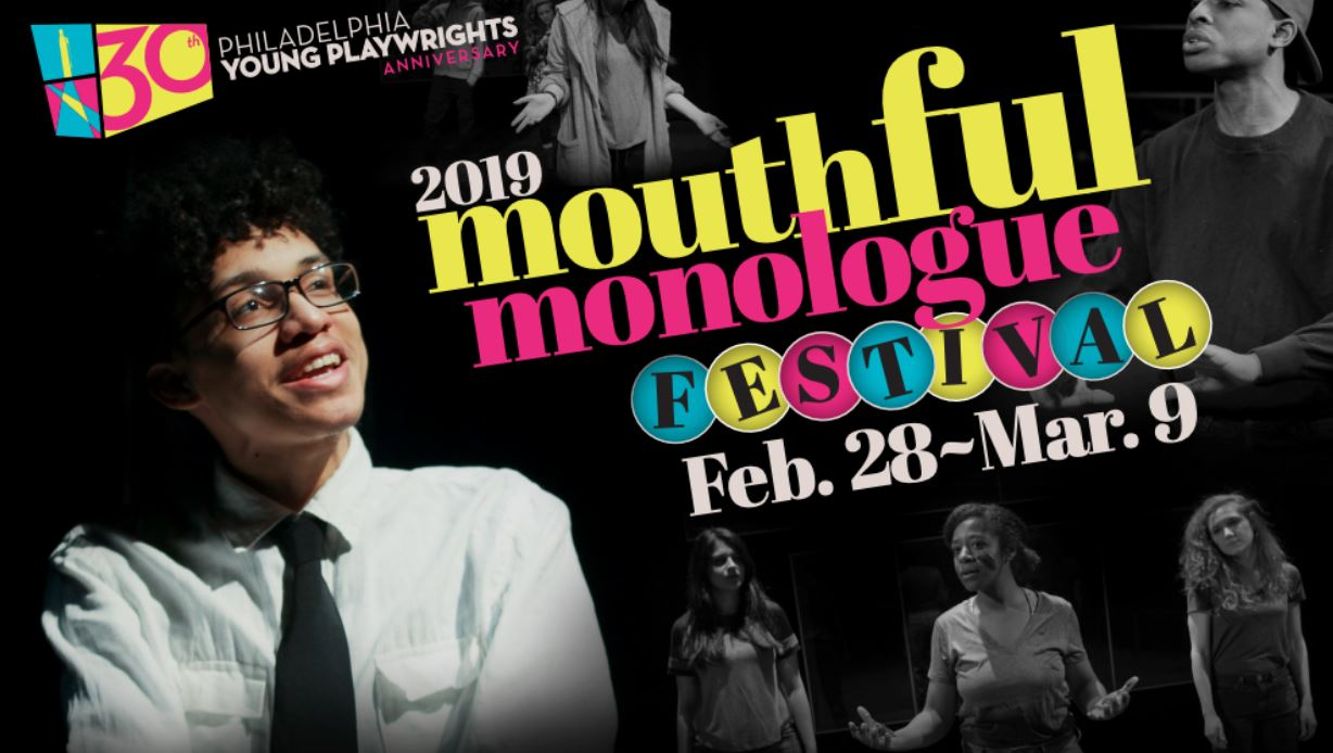 The Mouthful Monologue Festival featured professional performances of monologues written by high school students from all over the Philadelphia area.