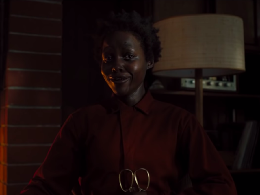 Lupita+Nyong%27o+plays+both+the+primary+protagonist+and+antagonist+in+Jordan+Peele%27s+latest+mind-bending+horror.+