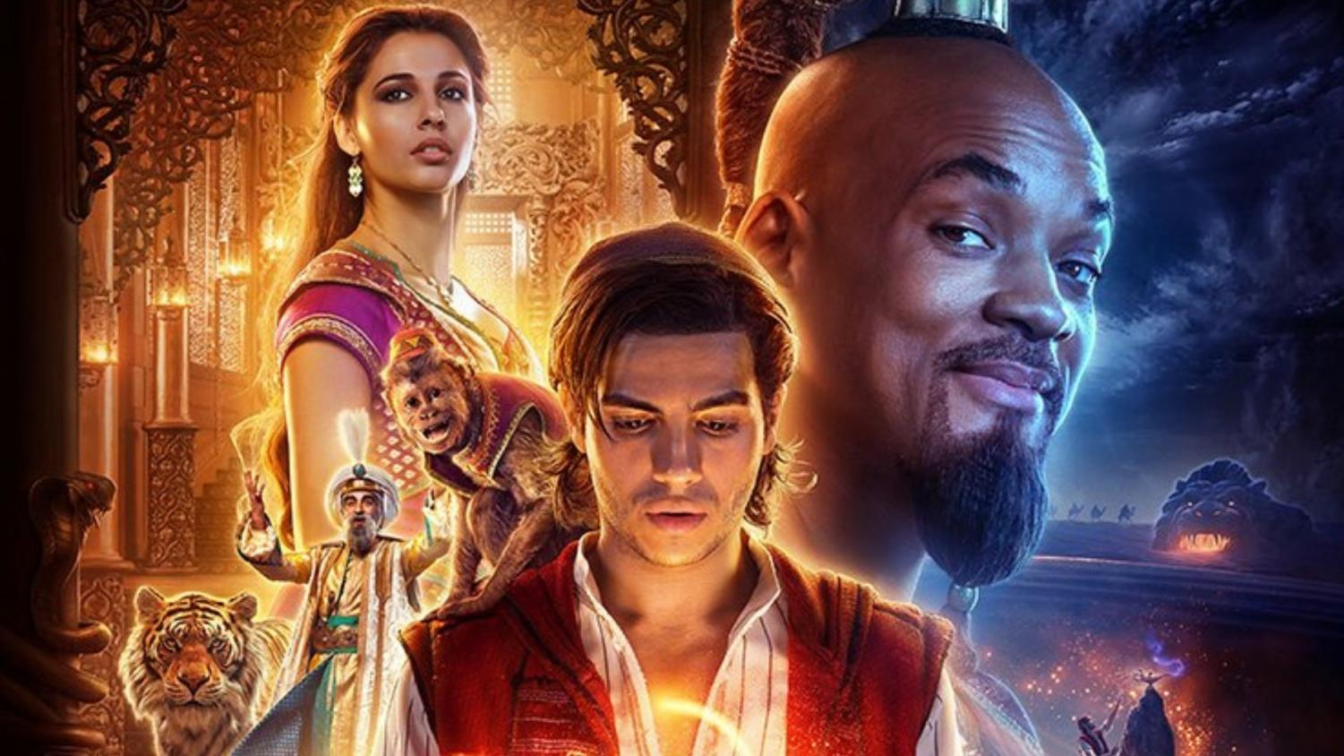 Aladdin was released in threaters on May 24th, 2019.
