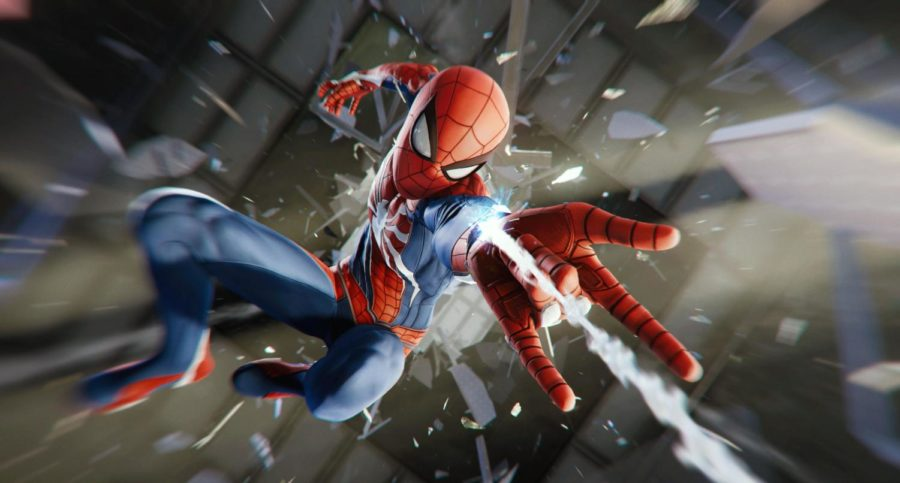 A+difficult+but+otherwise+near+perfect+game%2C+%27Spider-Man%27+should+provide+hours+of+entertainment+for+serious+PS4+gamers.++