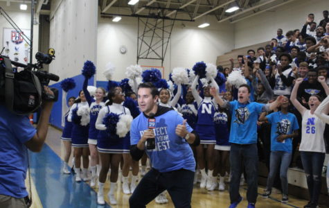 The Norristown crowd shows off its spirit on Fox 29.