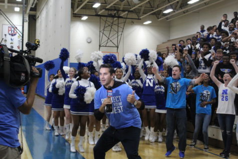 Surprise Pep Rally Preps Eagles for Football Season