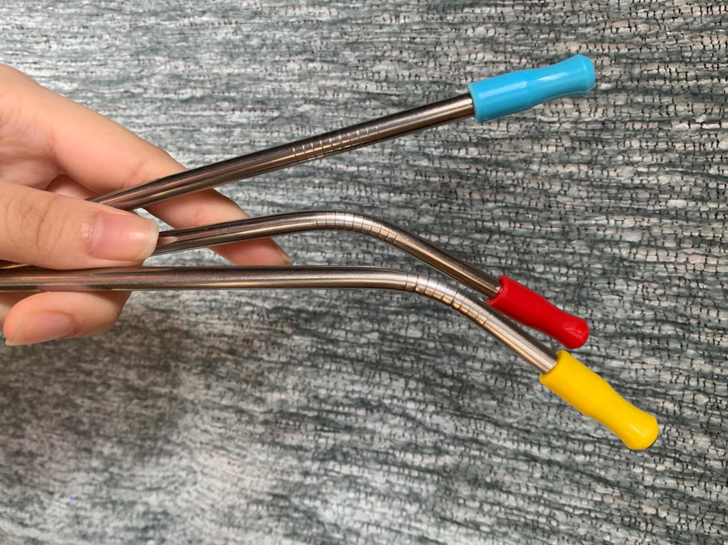 Metal straws can be a more environmentally-friendly approach to your iced latte.