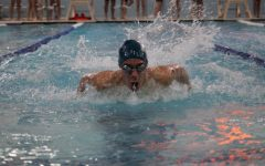 Devon Carpenter set NAHS's 50M freestyle record twice this year.