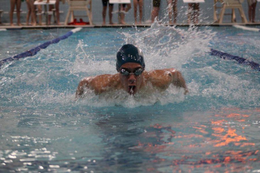 Devon Carpenter set NAHSs 50M freestyle record twice this year.