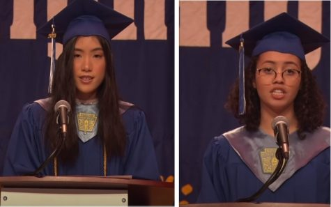 Valedictorian Jocelin Lai and Salutatorian Nicole Henry use their platforms to speech up about injustices in the world they and their graduating classmates are entering.