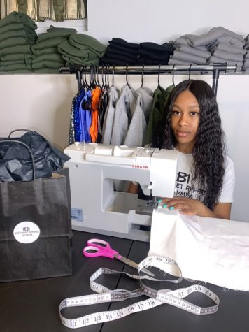 McIntyre-Rankine develops, designs, and assembles all of the product for Bré Monet Apparel.
